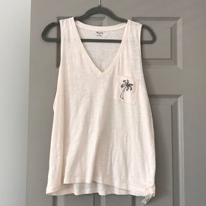 Madewell Palm Tree Tank Top